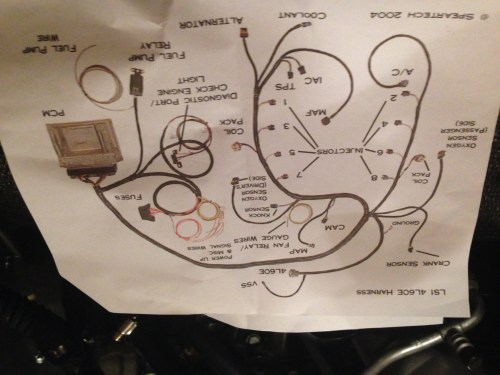 small resolution of ls swap wiring harness modification wiring diagram expert 5 3 swap wiring harness