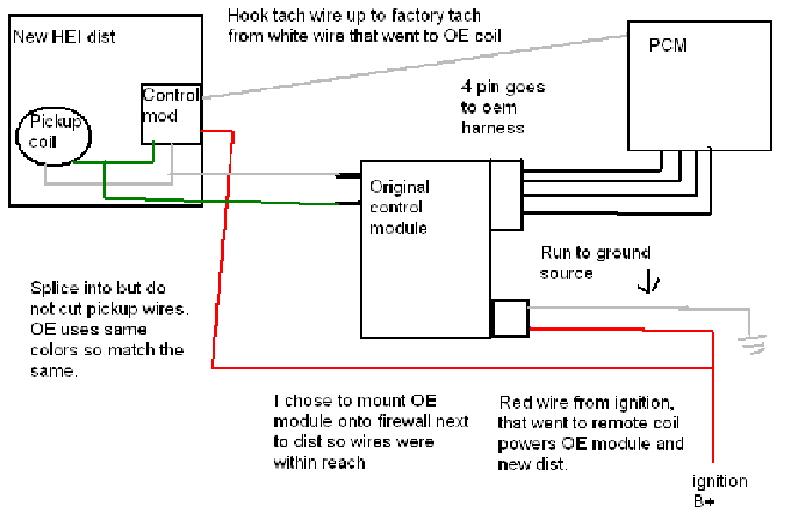 gm hei wiring wiring diagram