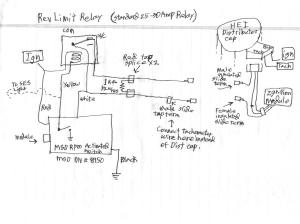 Howto: make inexpensive revlimiter for GM HEI with vacuum advance  Third Generation FBody