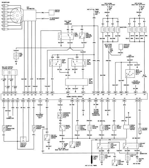 small resolution of 1991 firebird formula wiring diagram example electrical wiring rh huntervalleyhotels co 1992 pontiac firebird wiring diagram