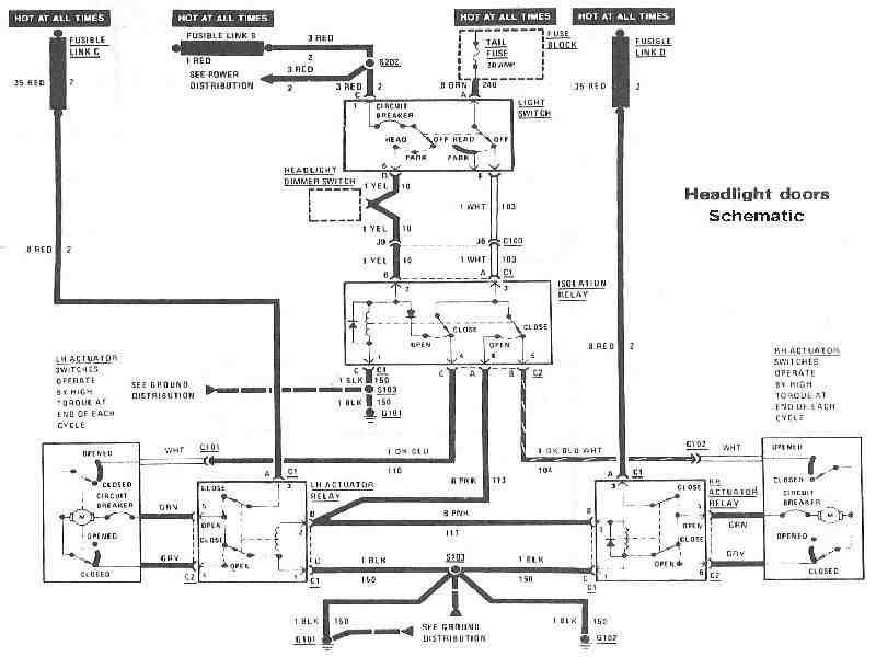 92 trans am wiring diagram headlights