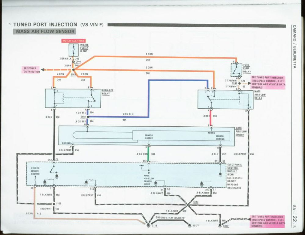 medium resolution of maf relay differences they are not all the same third generation rh thirdgen org 1969 camaro tps wiring diagram