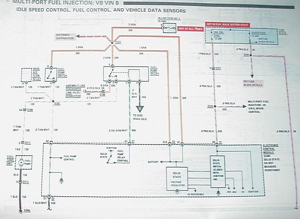 2010 Camaro Engine Cooling System Diagram Tpi Fuel Pump Constantly Runs Third Generation F Body