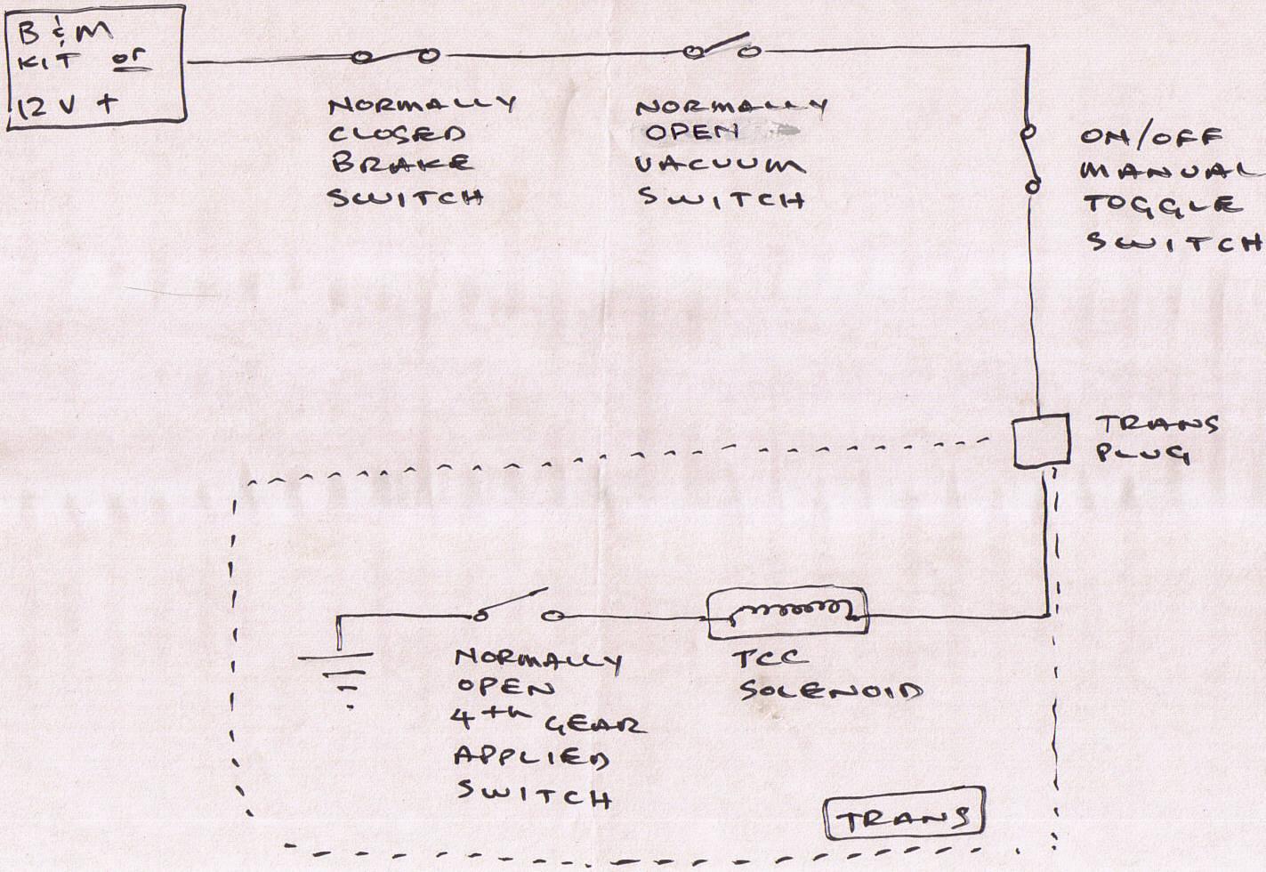 hight resolution of b amp m lockup w vacuum and brake switch