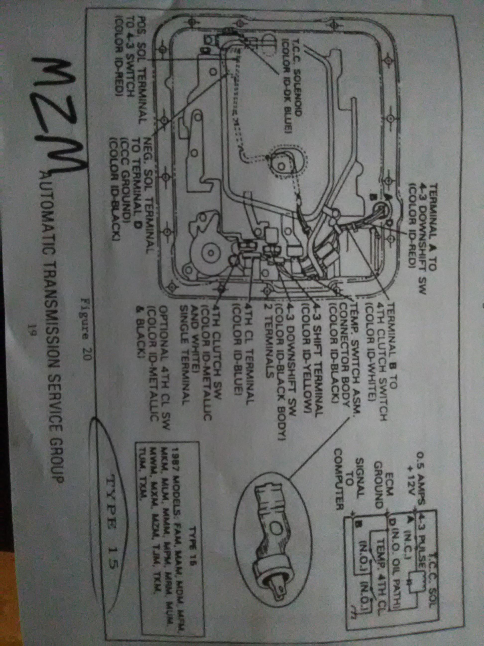 700r4 Wiring Harness