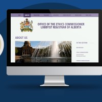 Modern Web Design for Government Website