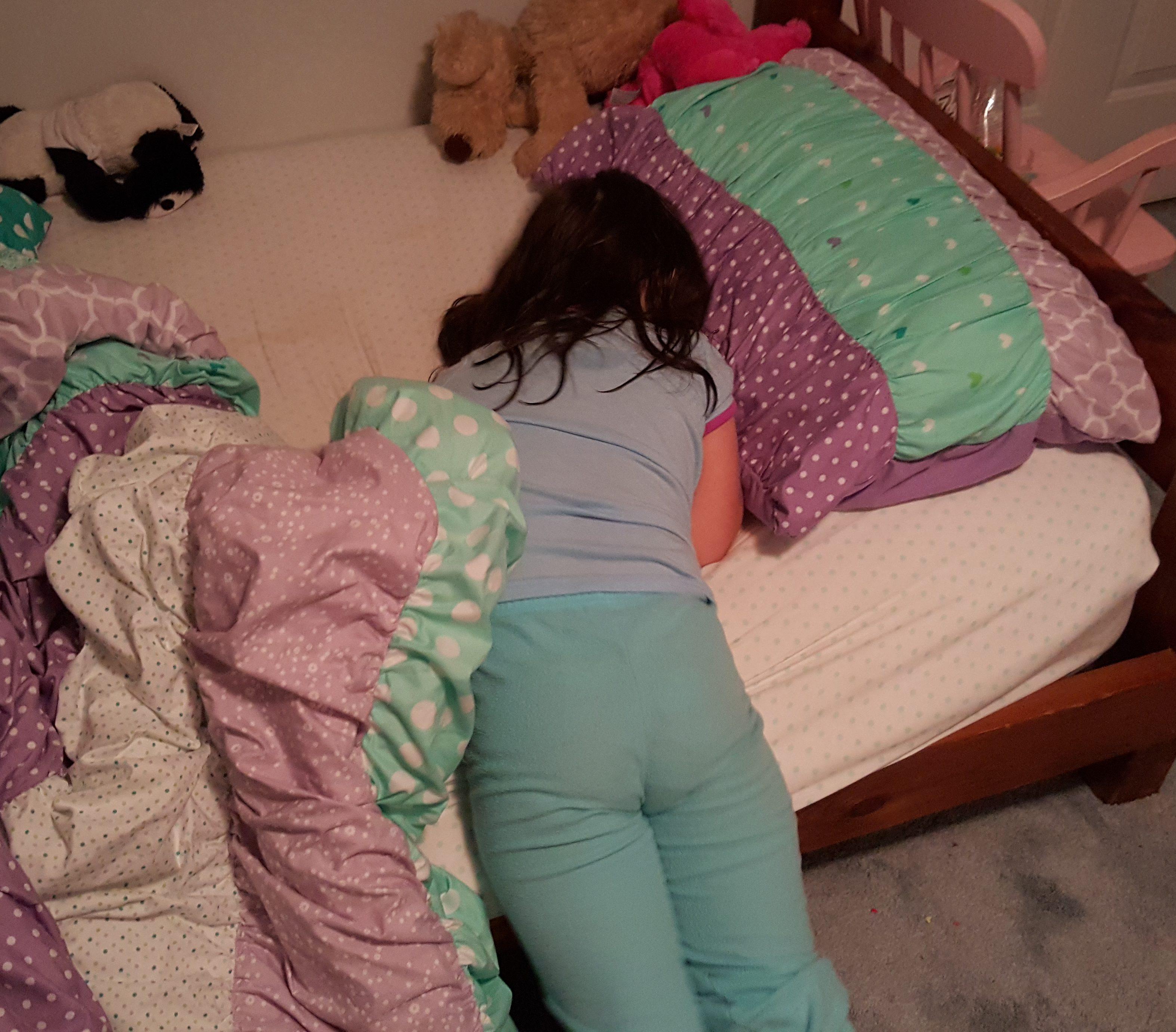 Sleeping teen anal