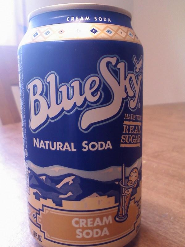 Thirsty Dudes Blue Sky Natural Soda Cream