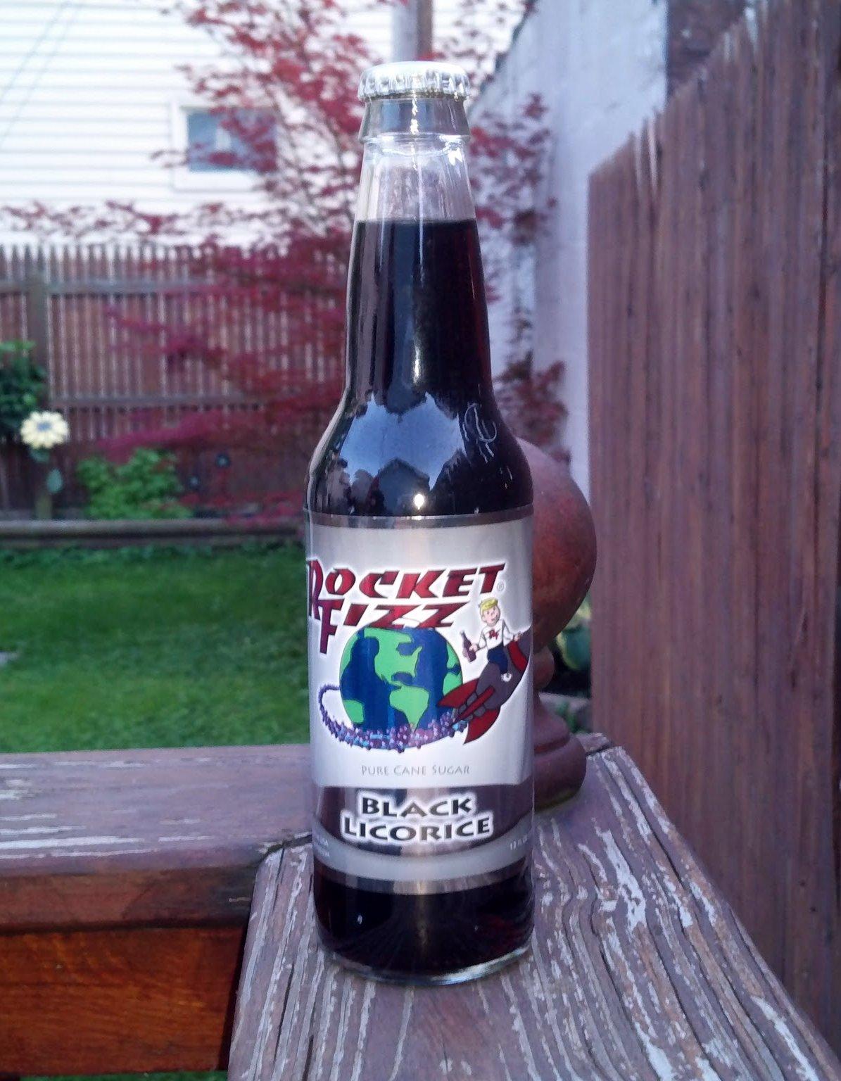 Thirsty Dudes  Rocket Fizz Black Licorice