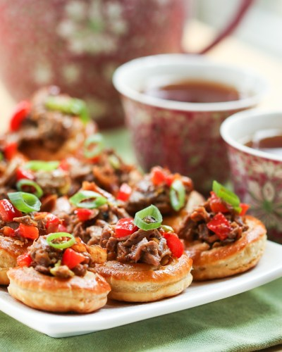 Thirsty For Tea Chinese Duck Tarts with Plum Sauce