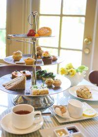 The Huntington Rose Garden Tea Room in San Marino ...