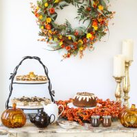 Autumn Tea Party Ideas & A Giveaway! | Thirsty For Tea