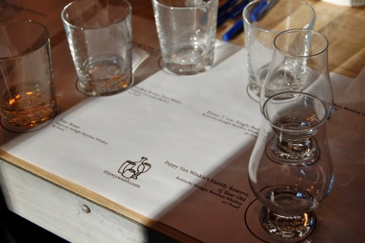 Bourbon Tasting Event