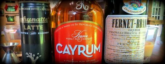 Whynatte Cayrum Fernet Branca