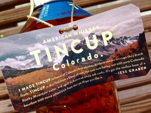 Tin Cup Colorado Whiskey