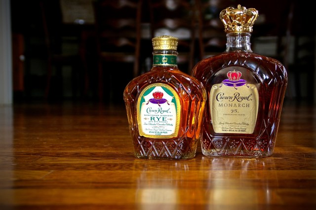 Crown Royal Rye and Monarch