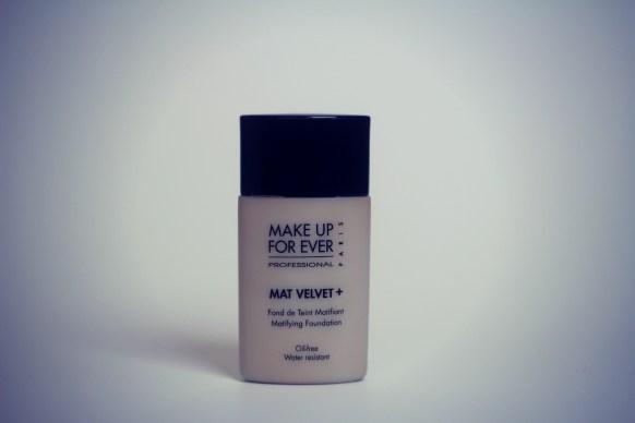 Makeup For ever mat velvet foundation review
