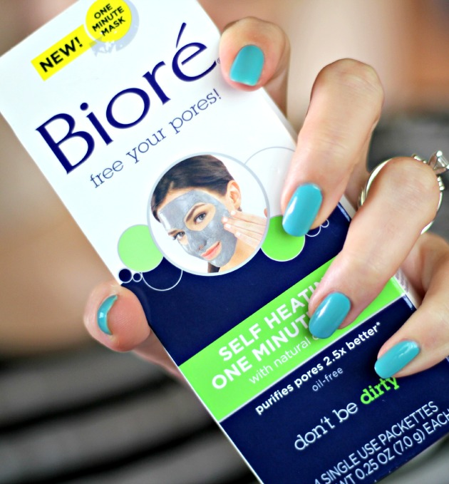 Biore self heating one minute mask review