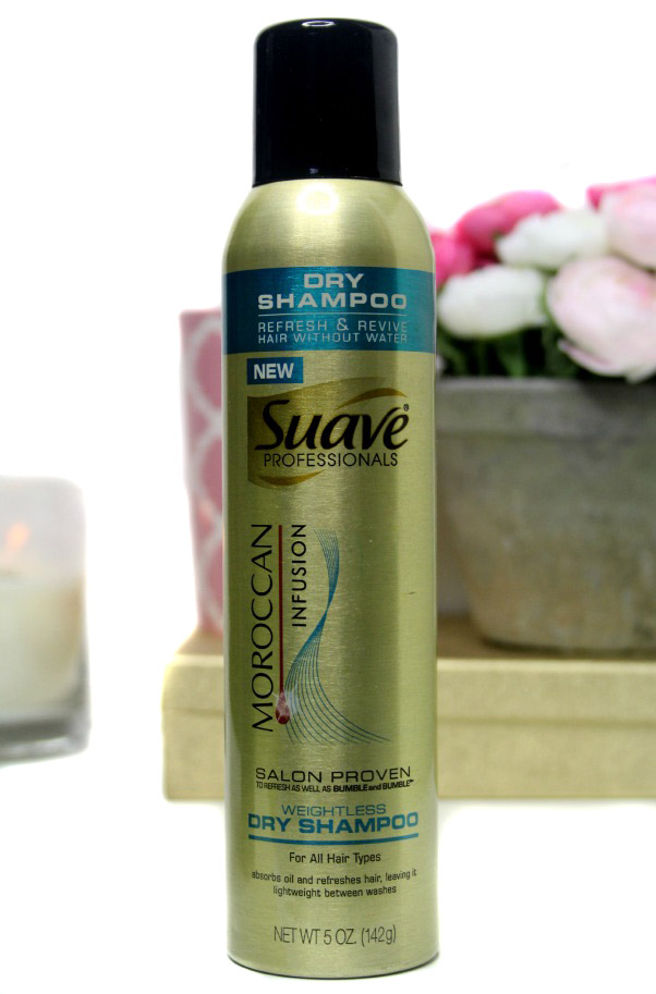 Suave professionals dry shampoo moroccan infusion review