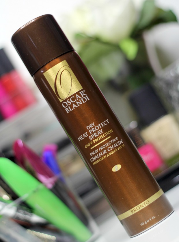 Oscar Blandi Dry Heat Protect Spray Review blog
