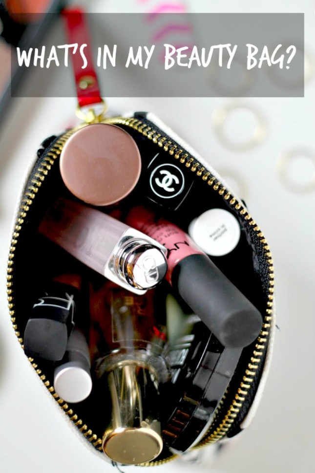 what's in my beauty bag post