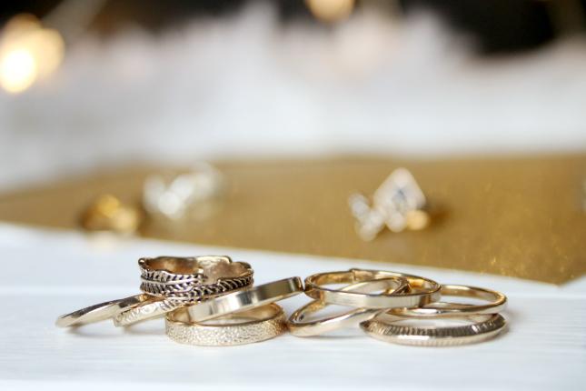 H&M midi rings