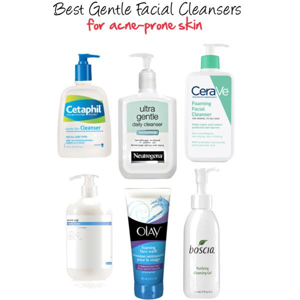 Best Gentle Cleansers For Acne Prone Skin