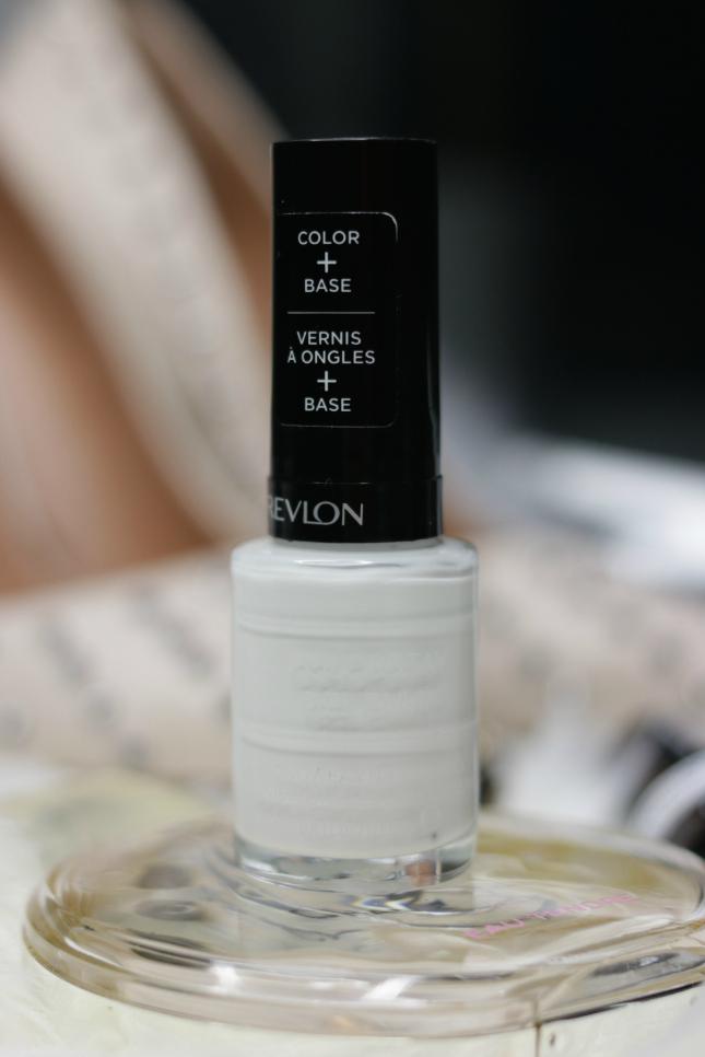 White gel nail polish revlon