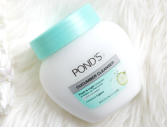 ponds cucumber cleanser