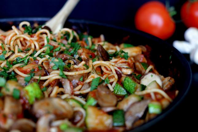 Easy weekday pasta dinner