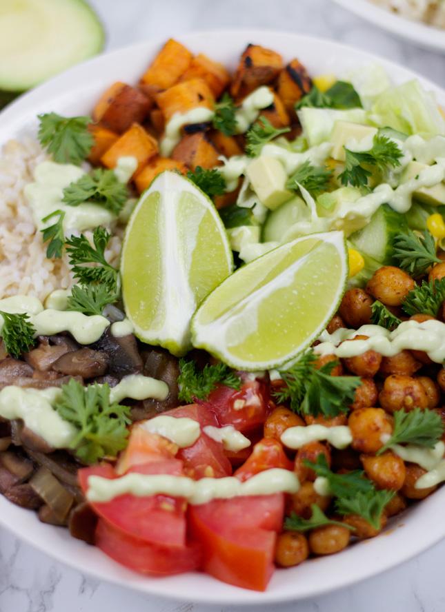 Healthy Veggie Bowls (Vegan)