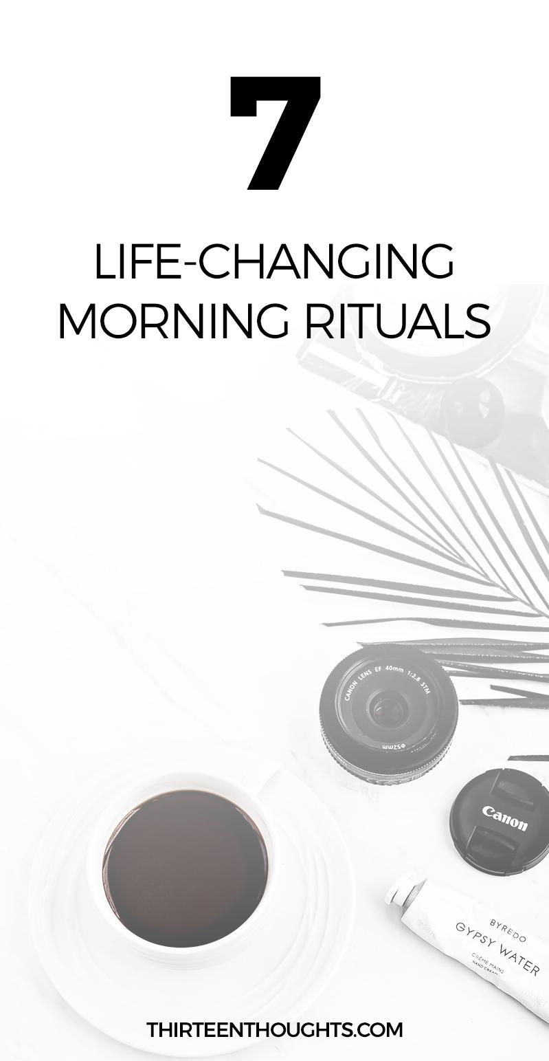 7 Life-Changing Rituals