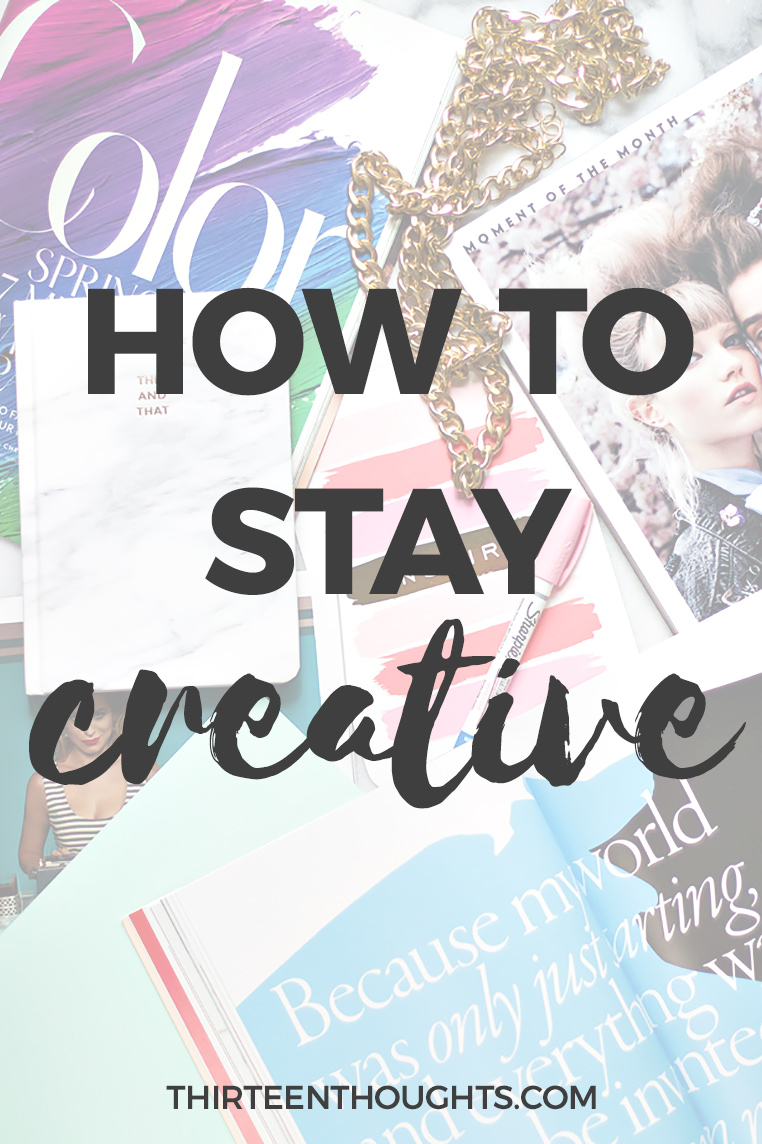 how to boos your creativity