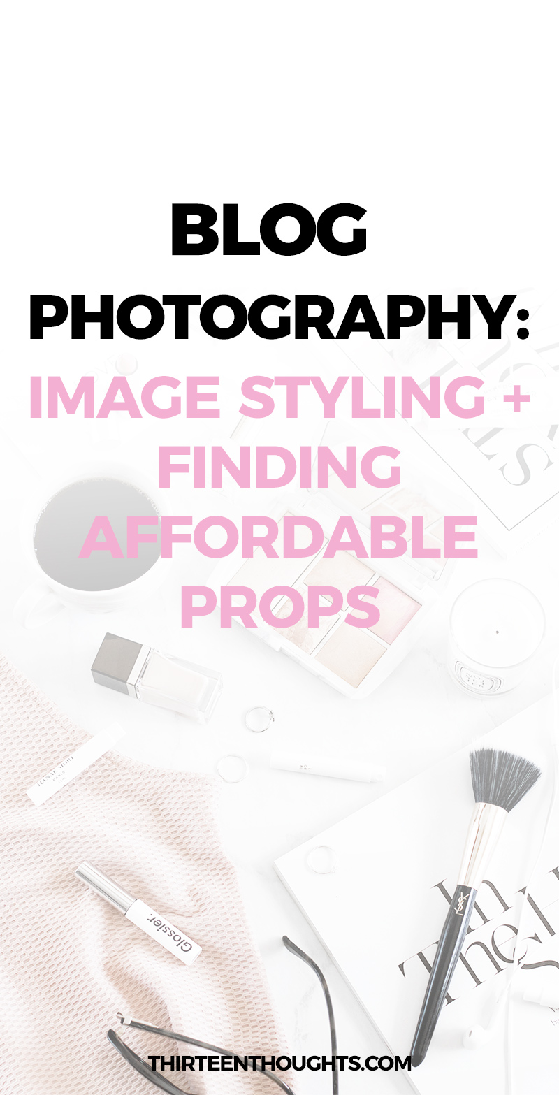 Blog Photography Styling + Affordable Props