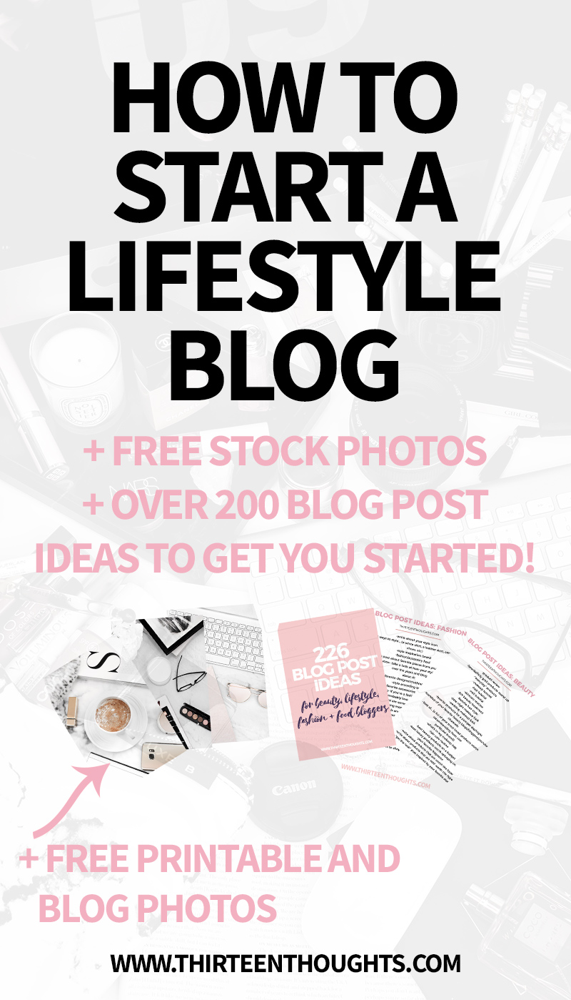 How-to-start-a-lifestyle-blog-in-2018