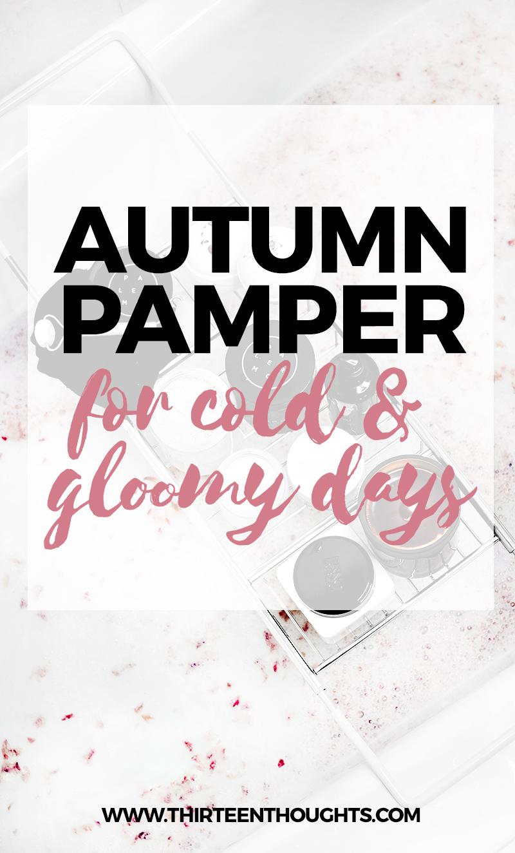 Autumn pamper