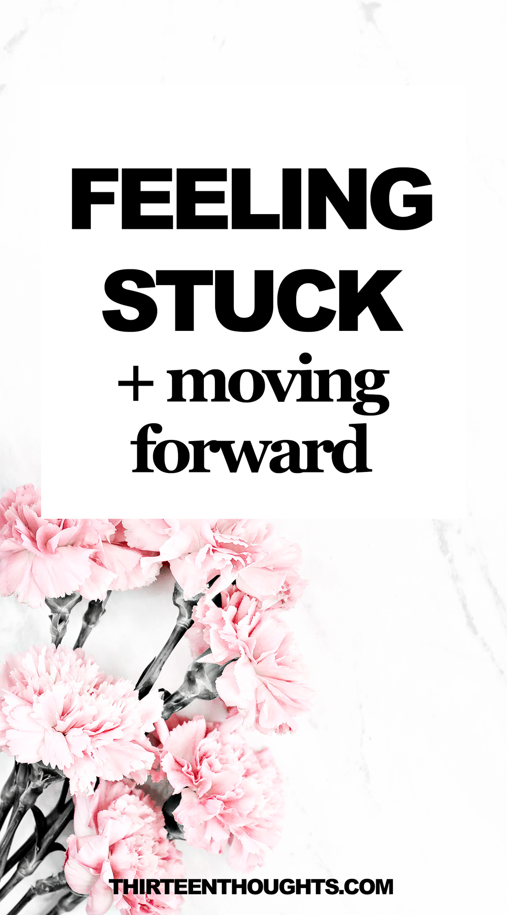 How to deal with feeling stuck in life