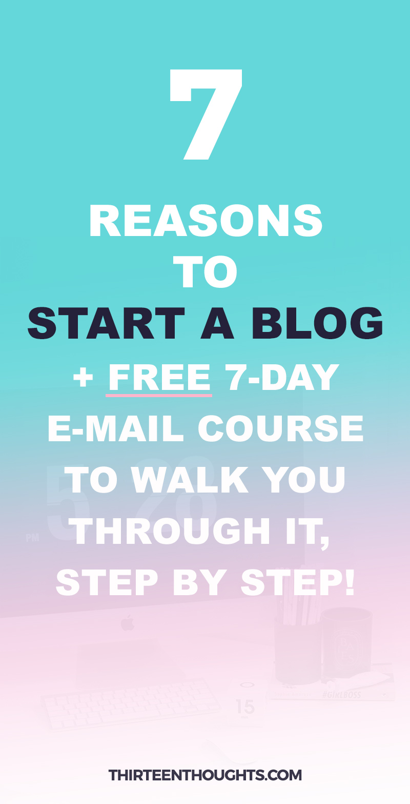 How to Start a Blog Email Course