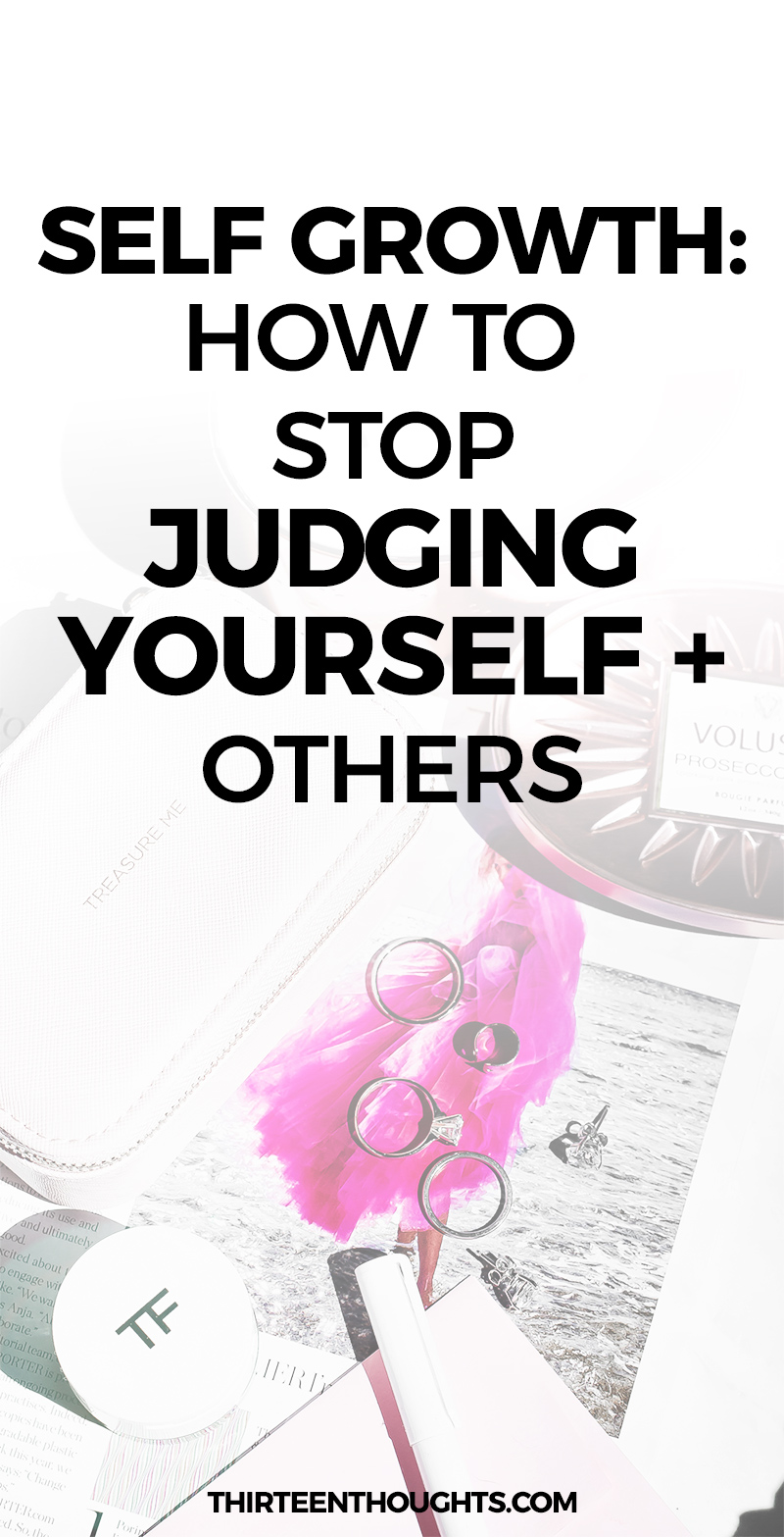 Judging Yourself: How to Judge Yourself Less