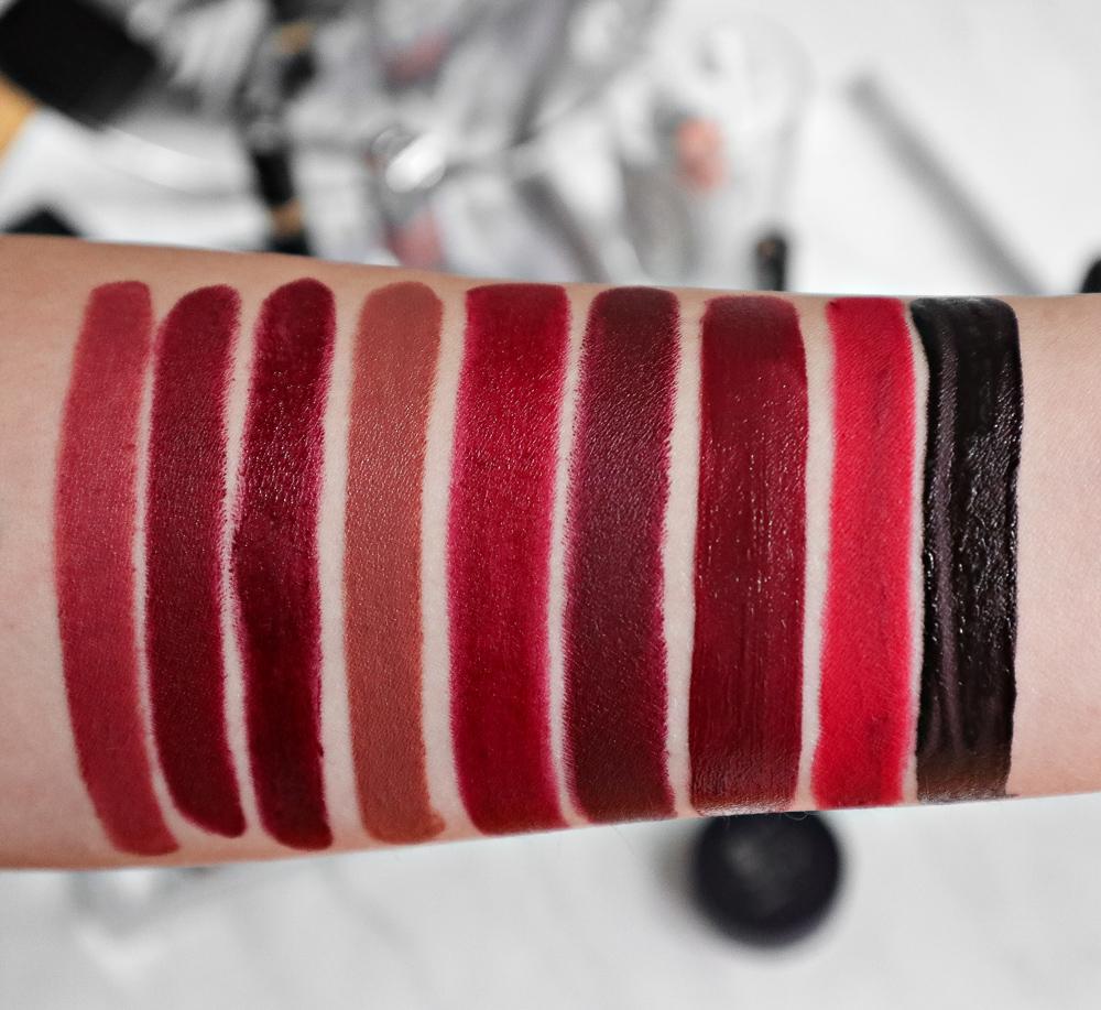 Fall 2018 Lipsticks