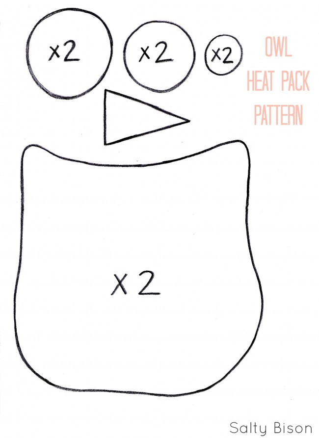 Sweet Stocking Stuffer: Handmade Owl Heat Pack