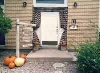 Easy Front Door Halloween Decor