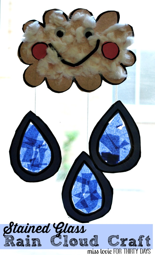 We found amazing easy cloud crafts that you can do it yourself. Kids Craft Spring Rain Cloud