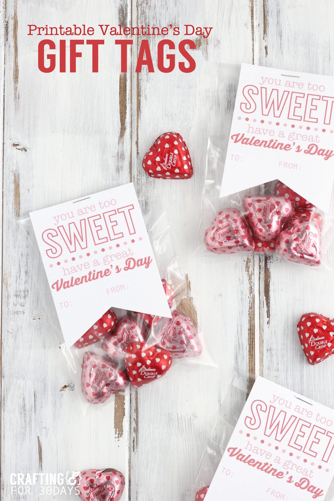 Printable Valentine S T Tag