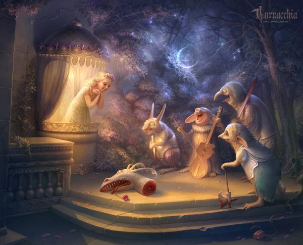Dark Fairy Tale Art Of Cornacchia Fantasy Artist