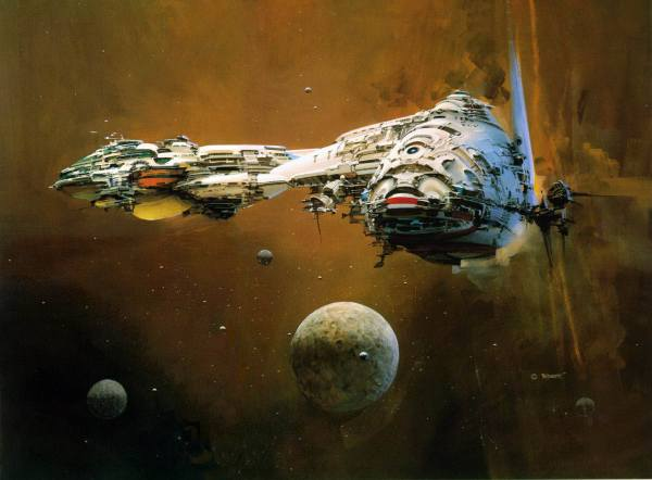 John Berkey Concept Art
