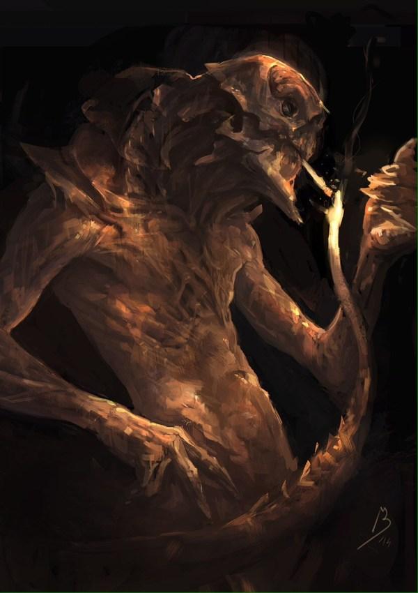 Dark Fantasy Art Of Black Malcerta Digital Paintings