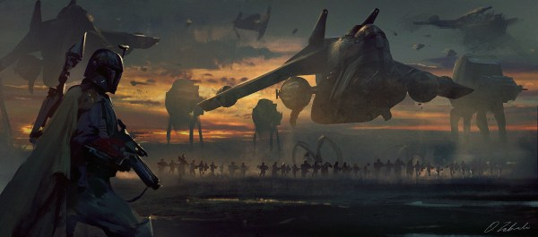 Star Wars Imperial Art