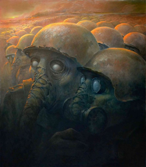 Dark Fantasy Art Of Dariusz Zawadzki Artist