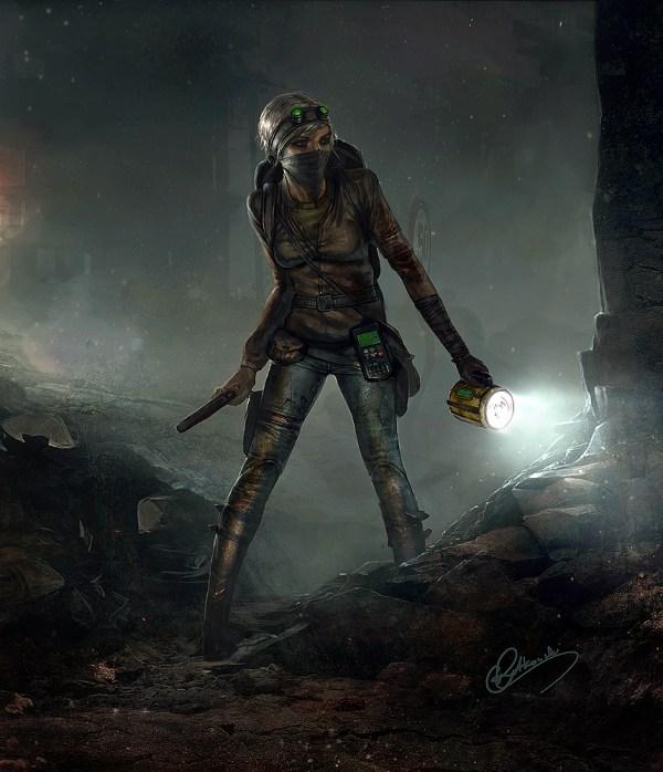 Post Apocalypse Survivor Art